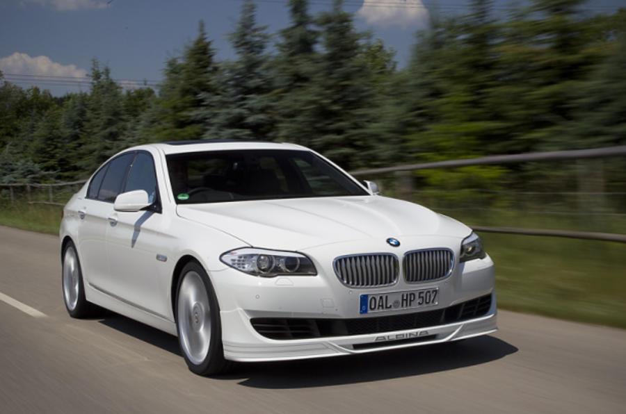 Alpina's BMW M5 rival revealed
