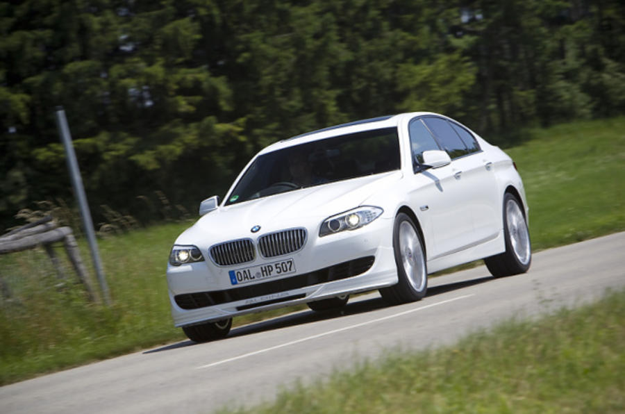 Alpina's BMW M5 rival revealed
