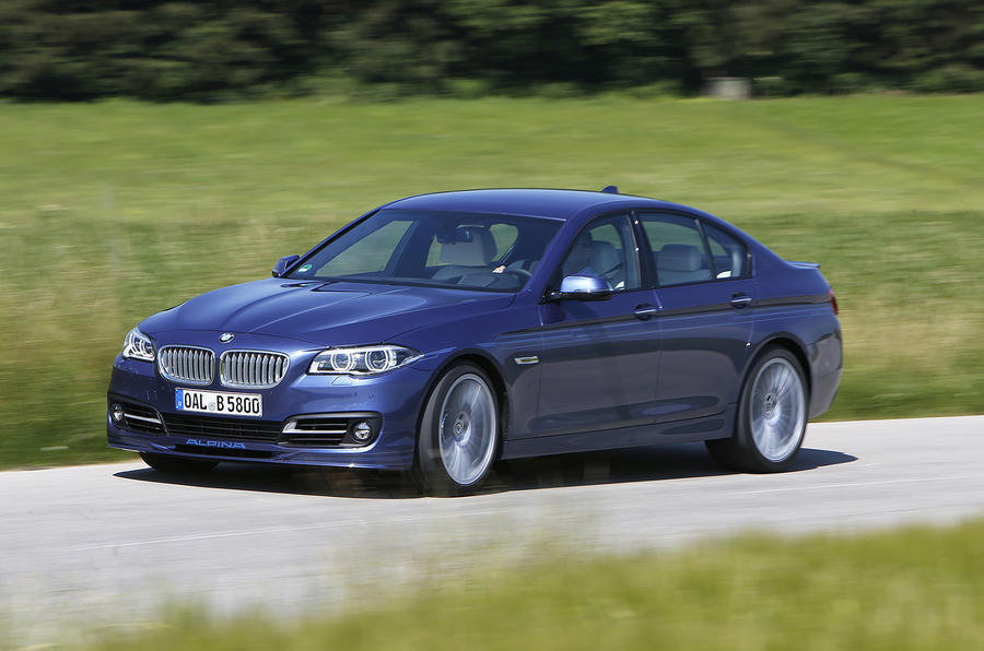 Alpina B5 50 Edition's 4.4-litre engine
