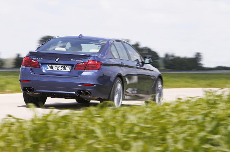 BMW 5 Series-inspired Alpina B5 50 Edition