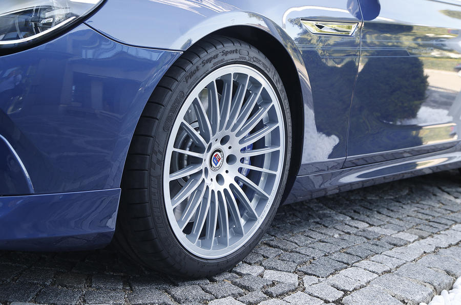 20in Alpina B5 50 Edition alloys
