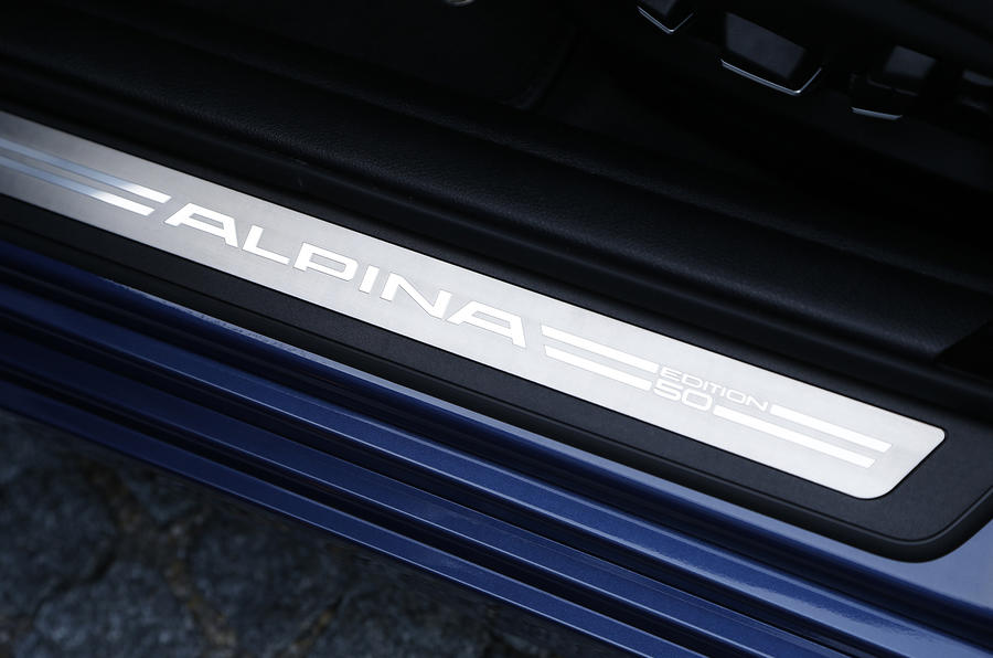 Alpina B5 50 Edition kickplates