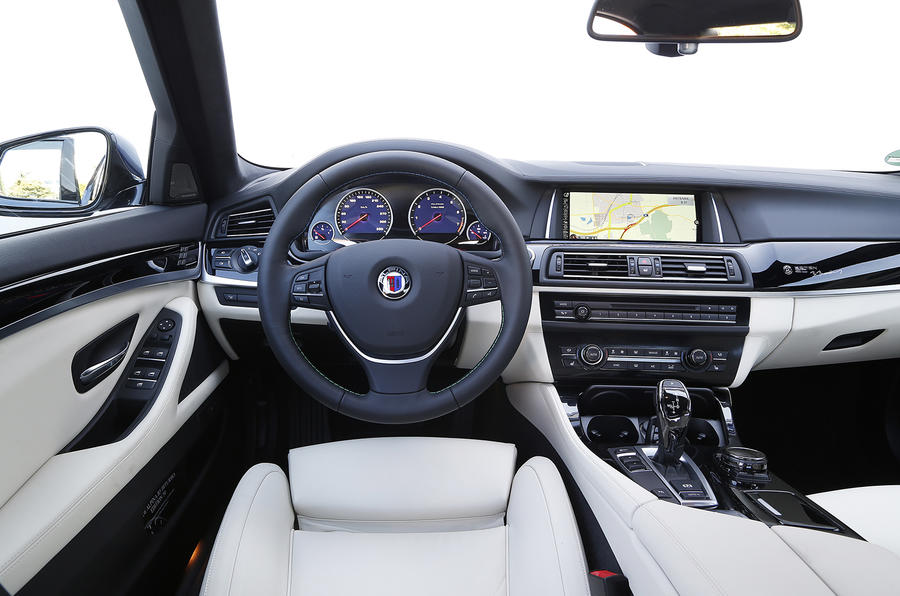 Alpina B5 50 Edition interior