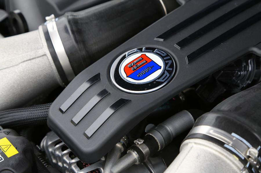 Alpina B5 engine badging