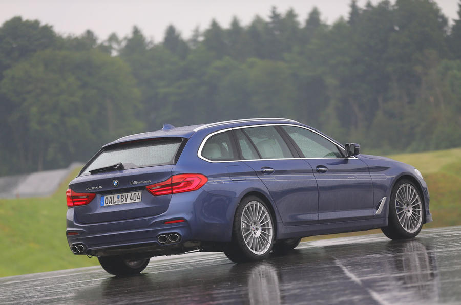 Alpina B5 rear quarter