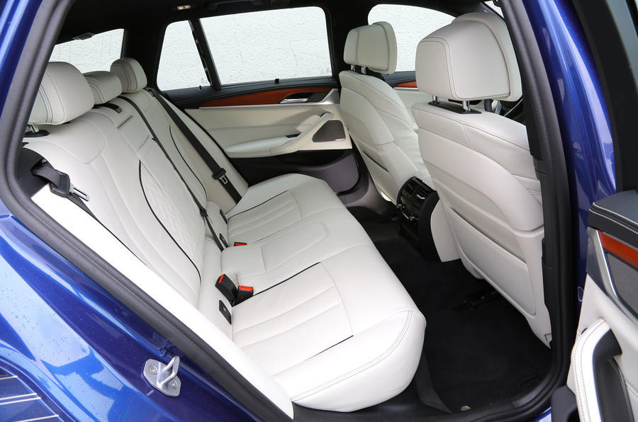 Alpina B5 rear seats