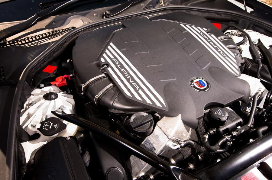 Alpina B6 Biturbo's 4.4-litre engine