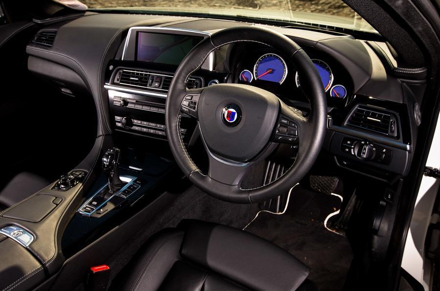 Alpina B6 Biturbo's interior