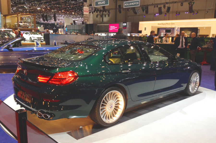 197mph Alpina B6 Gran Coupé revealed