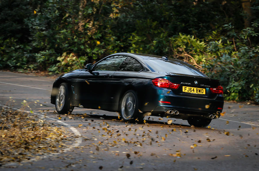 Alpina D4 uses the same engine as the D3
