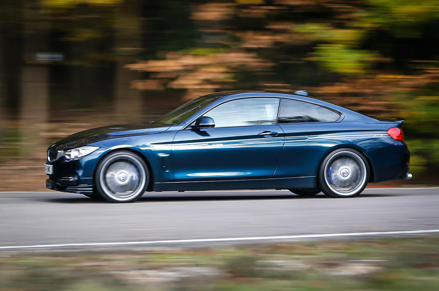 Alpina D4's 0-62mph time is 4.6 seconds