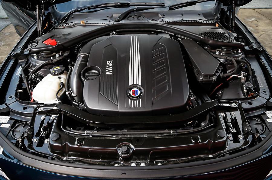 3.0-litre BMW diesel in Alpina D4