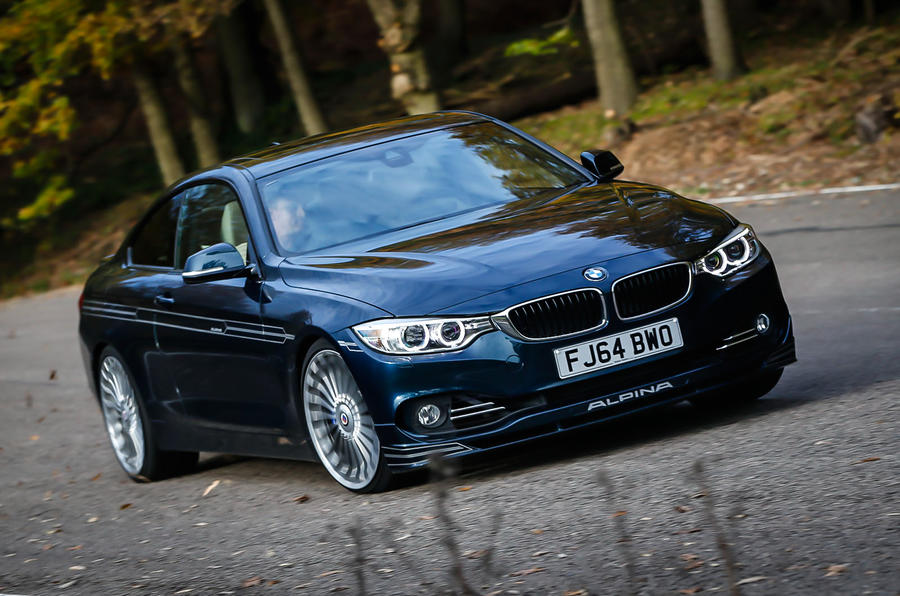 The 1585kg Alpina D4 Biturbo