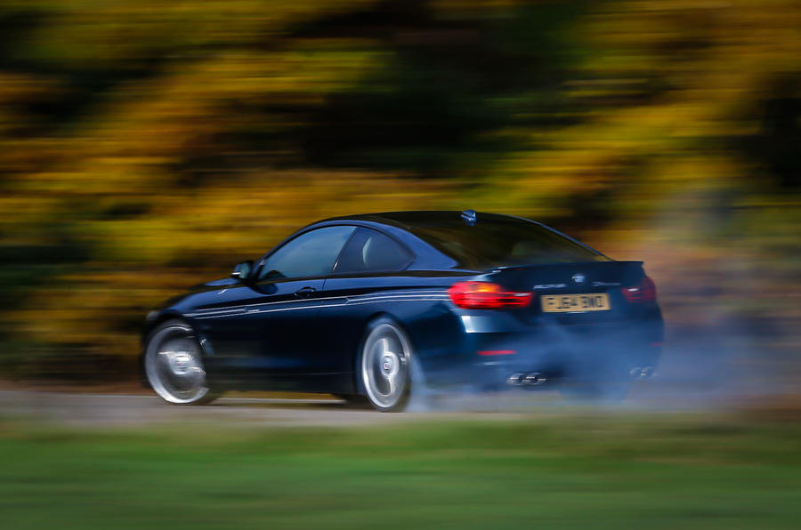 Sideways Alpina D4 Biturbo Coupé