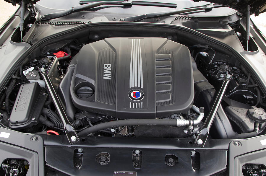 Alpina D5 uses a BMW 535d engine