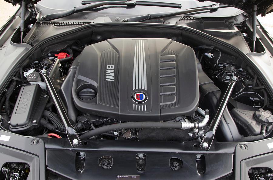 Alpina D5 uses a BMW 535d engine