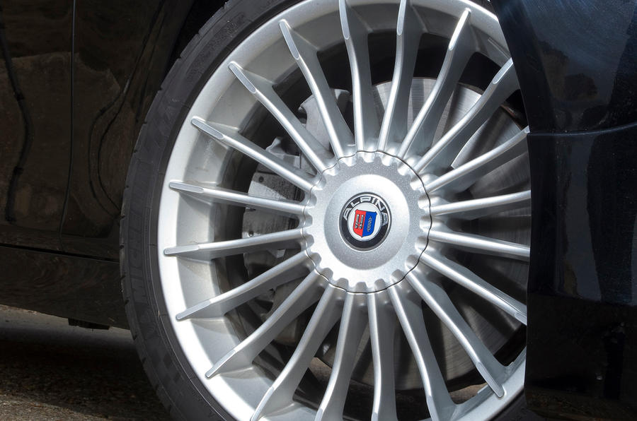 20in alloys on the Alpina D5
