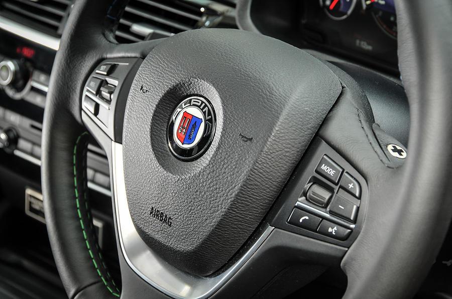 Alpina XD3 steering wheel