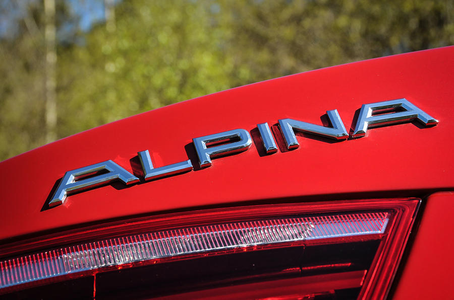 More Alpina XD3 badging
