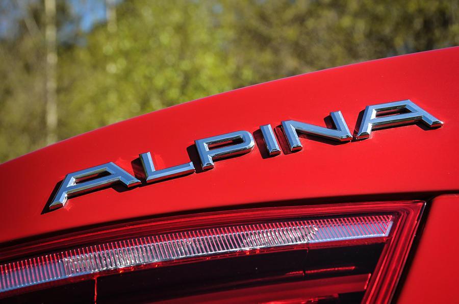 More Alpina XD3 badging