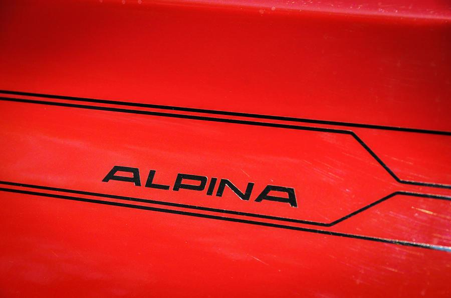 Alpina XD3 decals