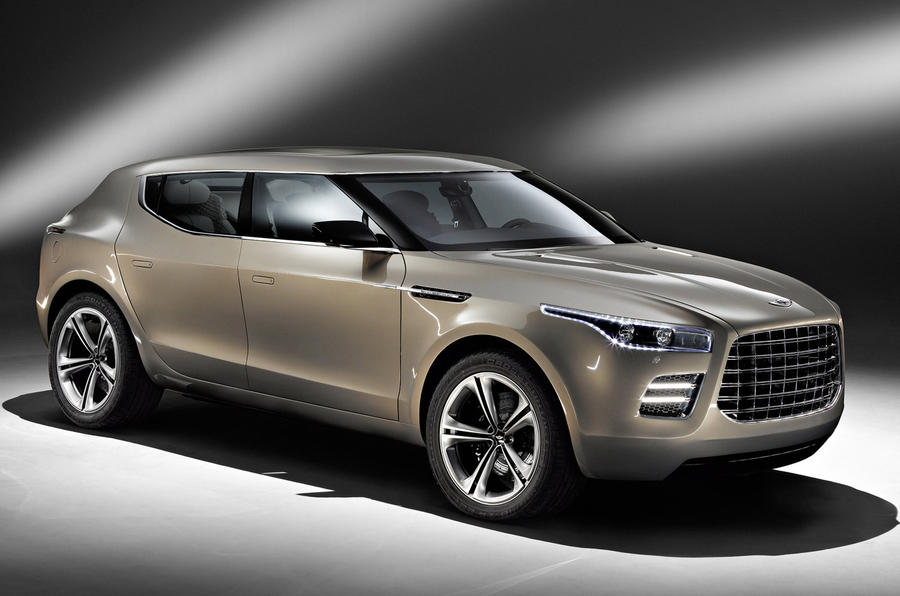 Aston Martin plans new model blitz
