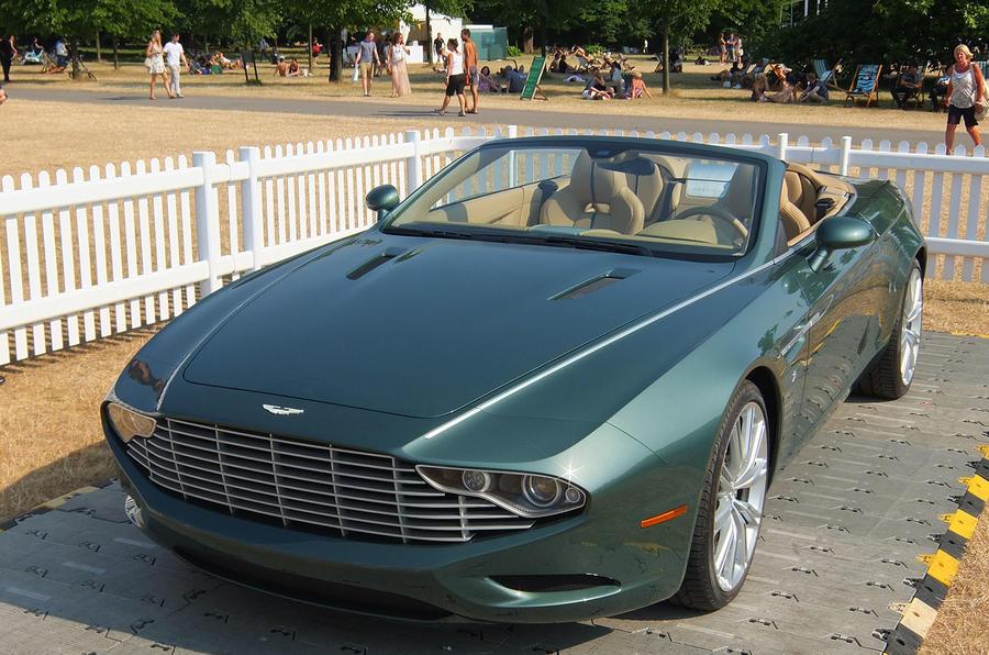 Aston Martin DB9 Spider Zagato and DBS Coupe Zagato revealed