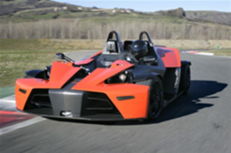 KTM X-Bow will cost £38k