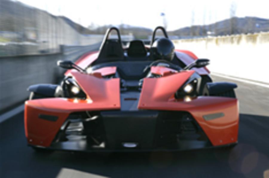 KTM accelerates X-Bow production