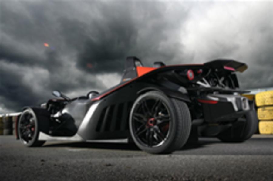 KTM plans wilder X-Bow