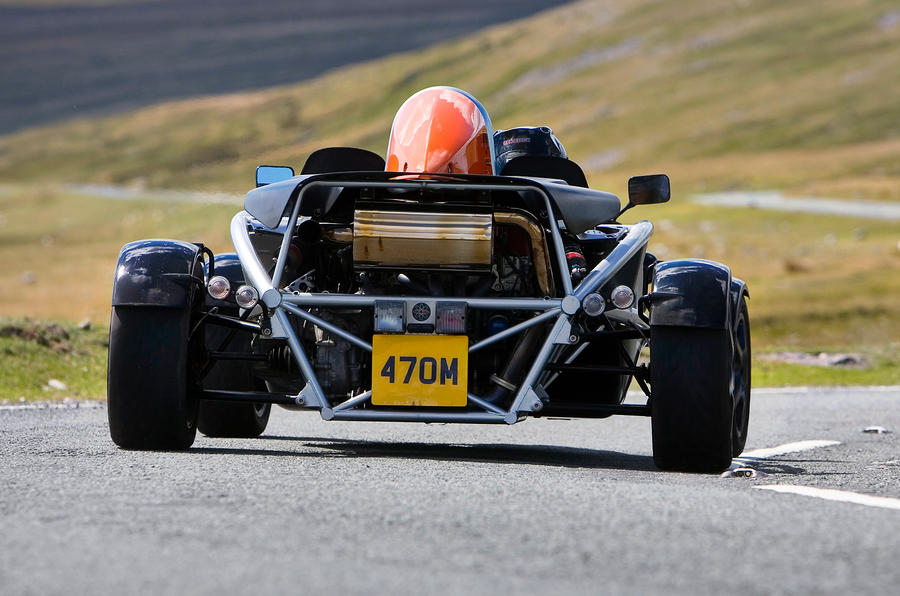 The attention-grabbing Ariel Atom