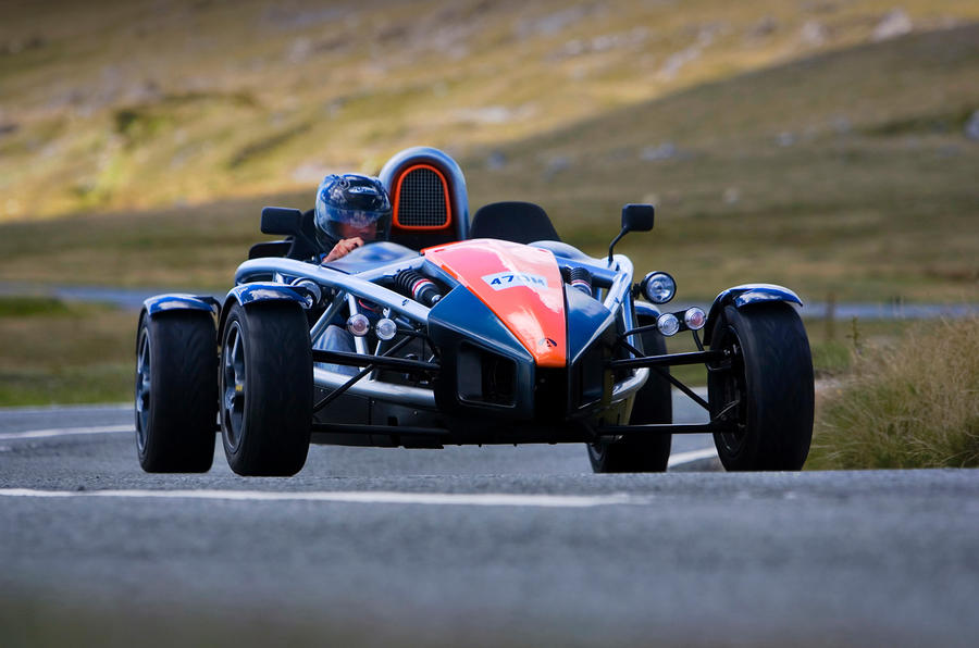 The work of art Ariel Atom