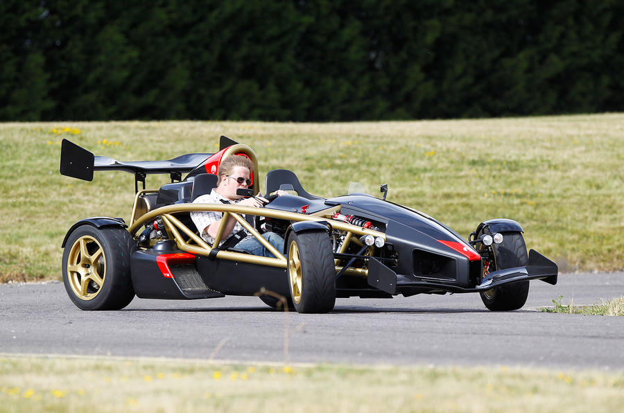 The pliant ride of the Ariel Atom