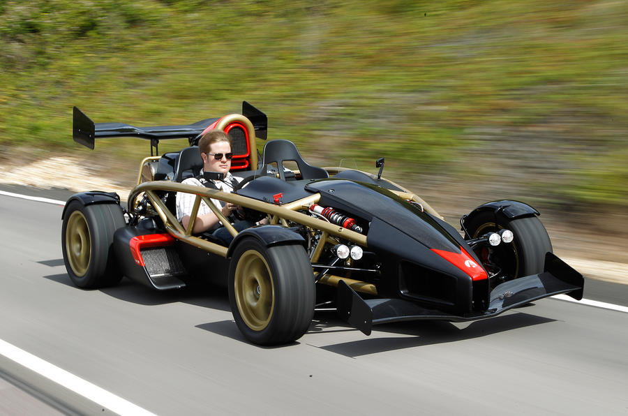The super-fast Ariel Atom