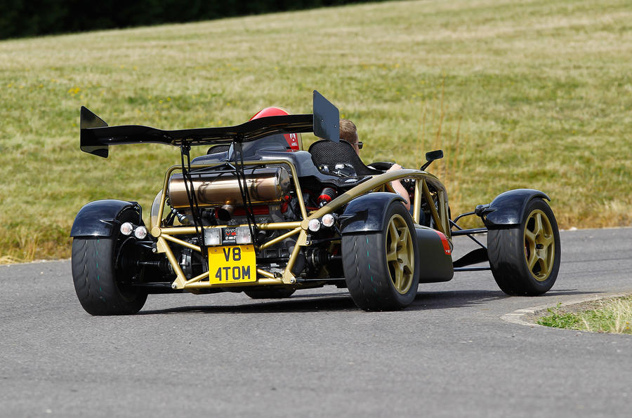 The loud and exciting Ariel Atom