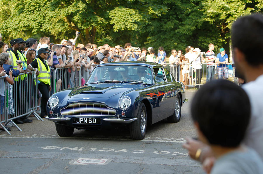 Aston Martin celebrates its centenary with display of 101 iconic models