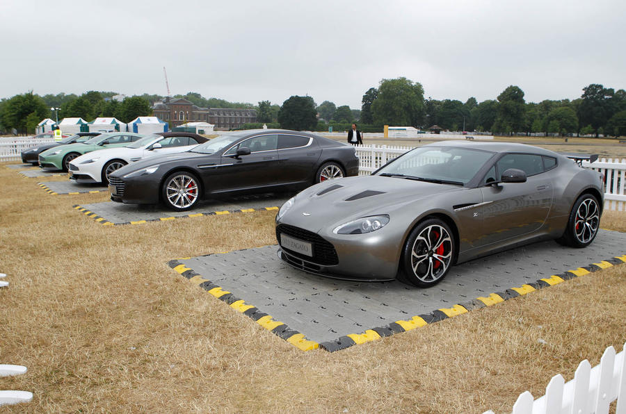 Aston Martin Celebrates Its Centenary With Display Of Iconic Models - Aston martin lineup