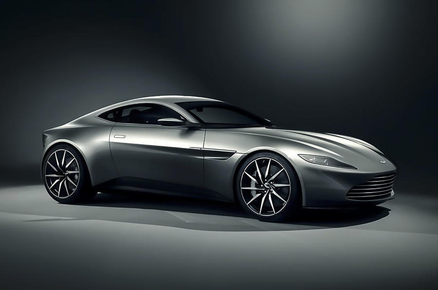 New Aston Martin DB10 is James Bond's new car for 2015 Spectre film