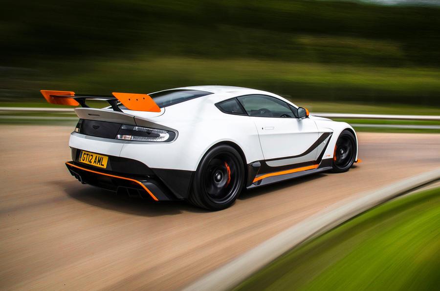 Aston Martin Vantage GT12 rear