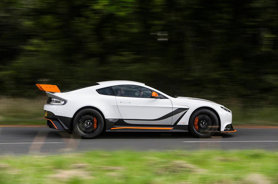 Aston Martin Vantage GT12 side profile