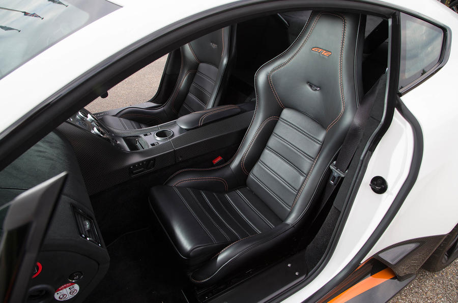 Aston Martin Vantage GT12 sports seats