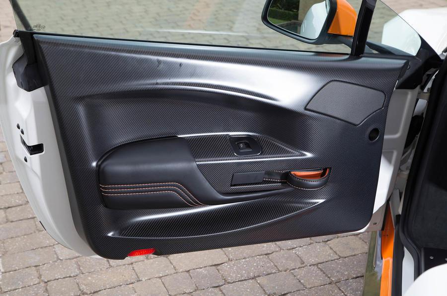 Aston Martin Vantage GT12 doorcard