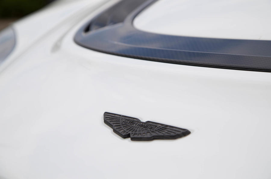 Aston Martin Vantage GT12 badge