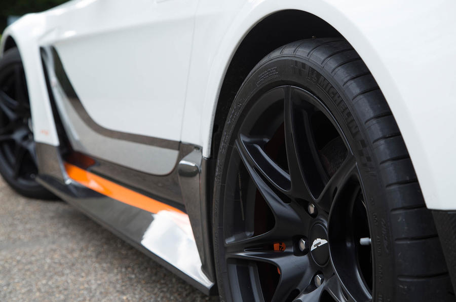 Aston Martin Vantage GT12 side skirts