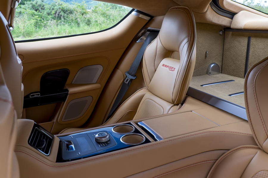 Aston Martin Rapide S rear seats