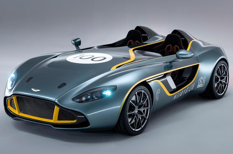 Captivating Aston Martin CC100 Concept Unveiled