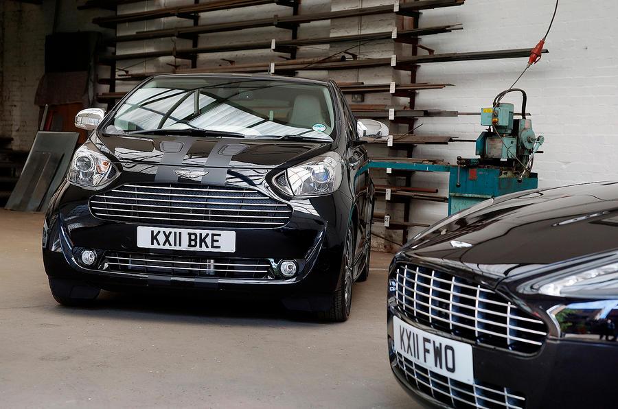 Toyota IQ-inspired Aston Martin Cygnet