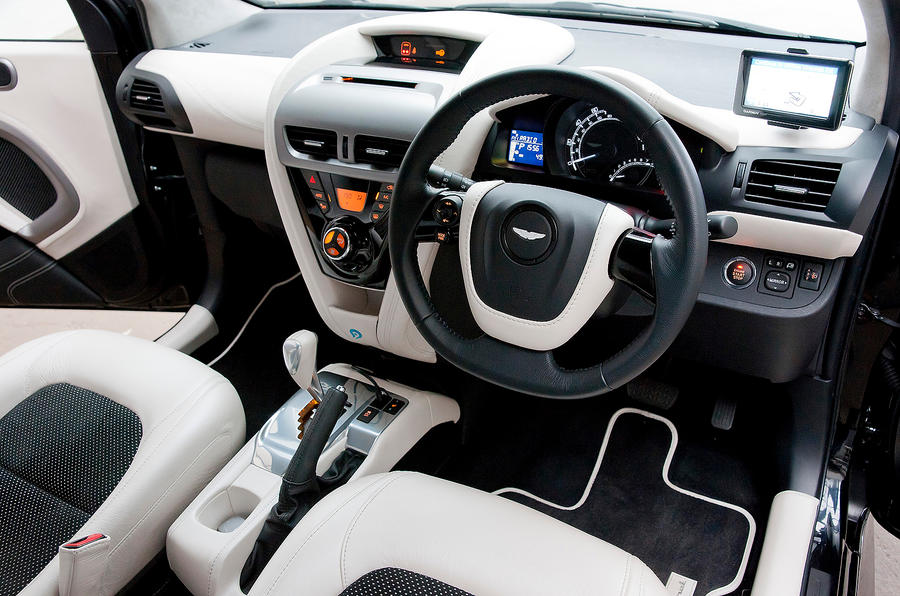 Superb ... Aston Martin Cygnet Interior