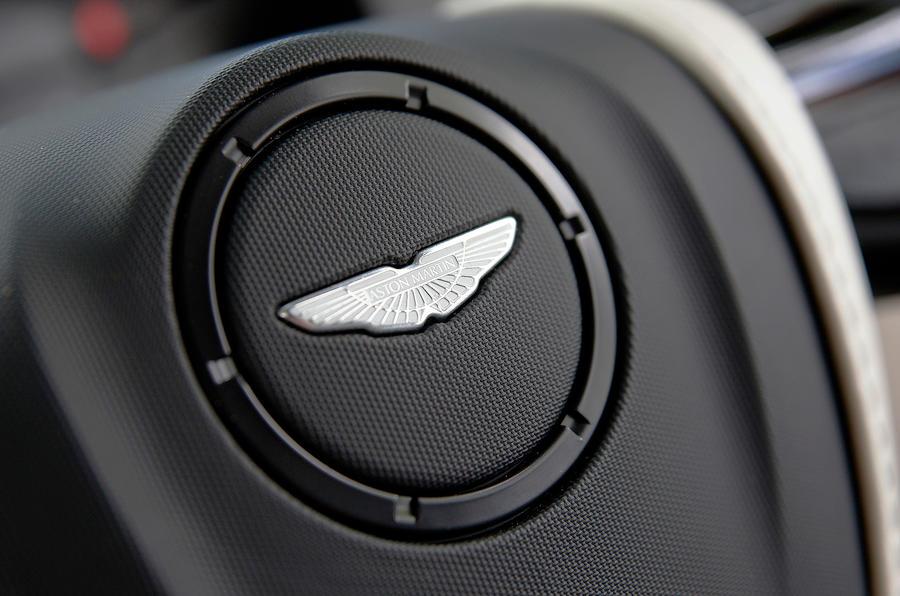 Aston Martin badging