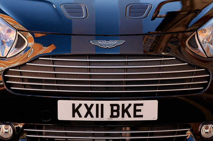 Aston Martin Cygnet's front grille